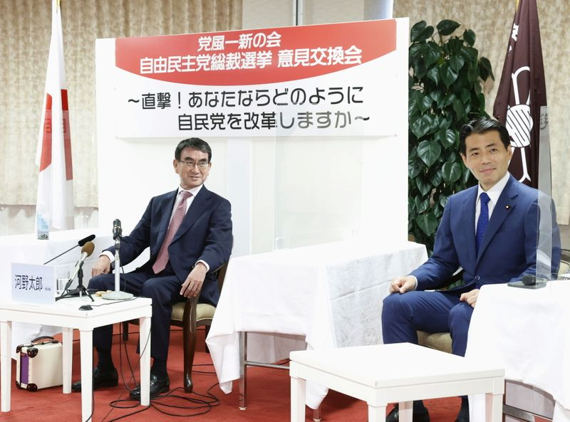 Junior Japanese lawmakers emerge as force in wide-open PM race